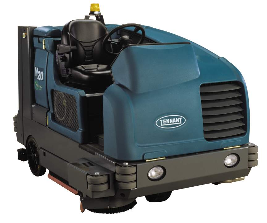 M20 Integrated Rider Sweeper Scrubber Quality Cleaning