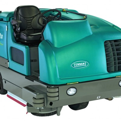 This M30 Large Integrated Ride-on Scrubber-Sweeper is available from Quality Cleaning in Luling, LA
