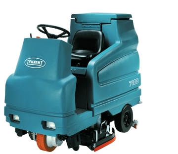 Quality Cleaning in Luling, LA offers this Tennant 7100 Battery Rider Scrubber for rent