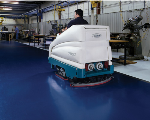 7200 Rider Floor Scrubber Quality Cleaning Equipment