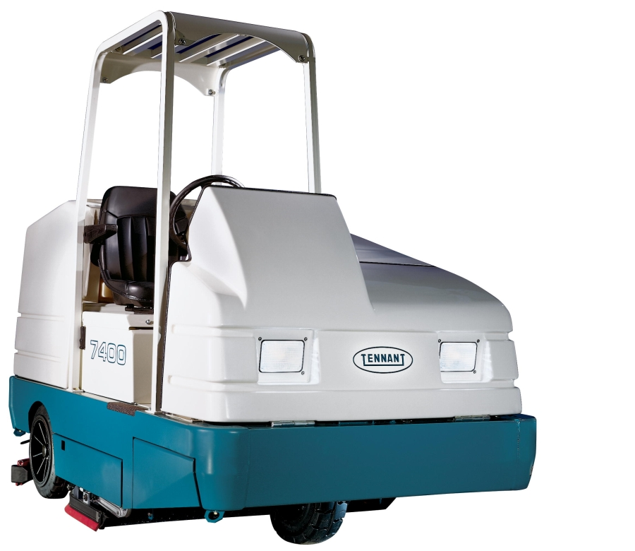 Tennant 7400 Rider Scrubber Quality Cleaning Equipment