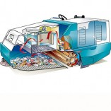 Image of Tennant Sweeper 800 drawing