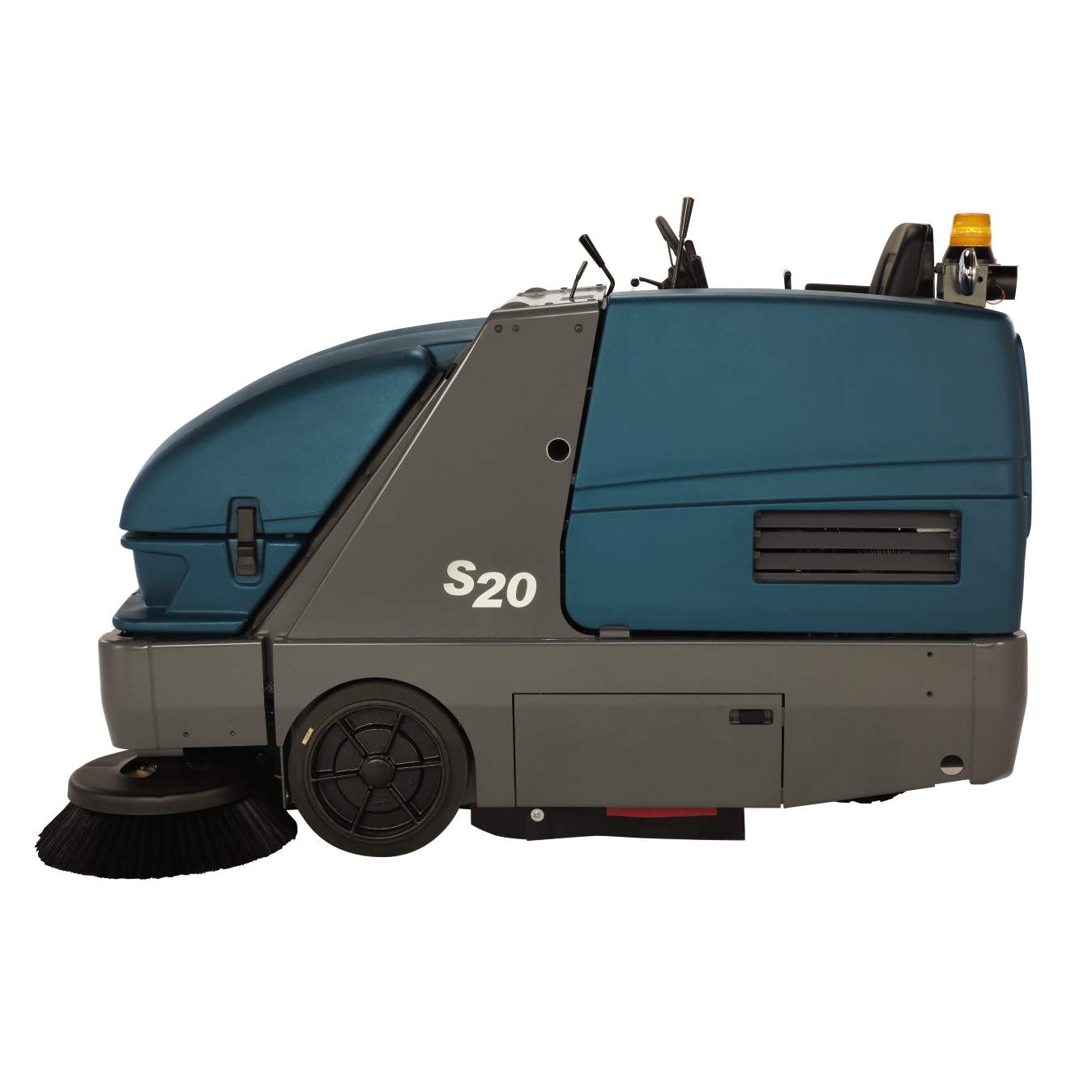 S20 Compact Mid Sized Rider Sweeper Quality Cleaning