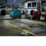 Image of the Tennant T20 bus garage