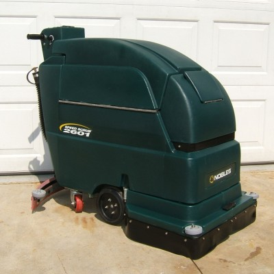 Quality Cleaning in Luling, LA offers this Nobles SpeedScrub 2601 Walk Behind Floor Scrubber